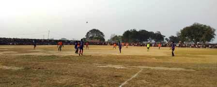Balraj Baba football match - Kundeshwar captured the trophy in the final
