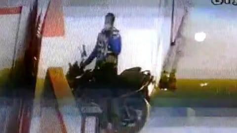 PDS shopkeeper bike stolen in Ara, photo captured in CCTV