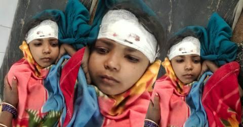 Koilwar Bhojpur - firing on Balu Ghat, child injured