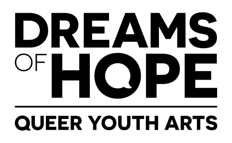 Dreams of Hope Queer Youth Arts Logo