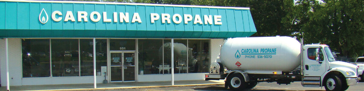 Front of Carolina Propane Office
