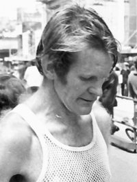 Pete Battrick after the 1978 Melbourne