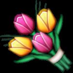 emoji flower