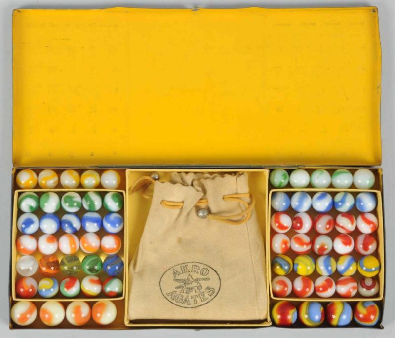 Akro Agate No. 200 Marble Box