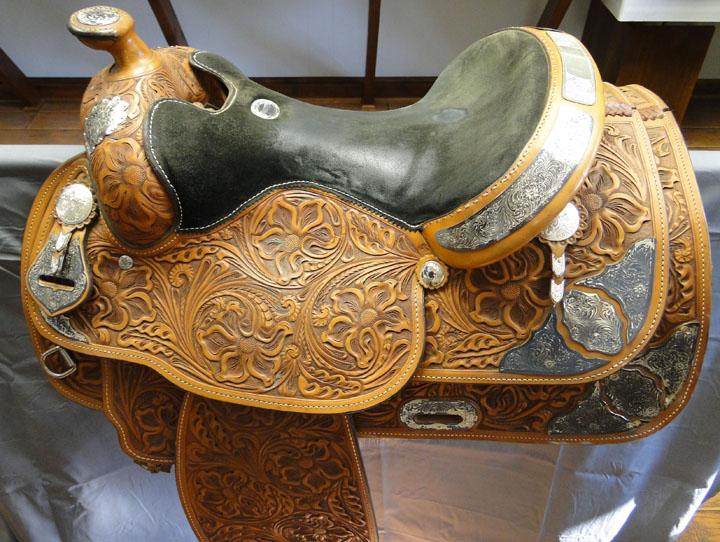 Vintage Horse Saddle