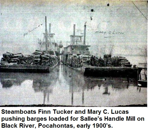 Early Steamboats, Pocahontas