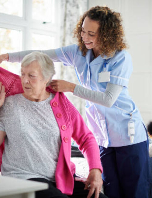 Ange; Care team Personal Care and Dressing