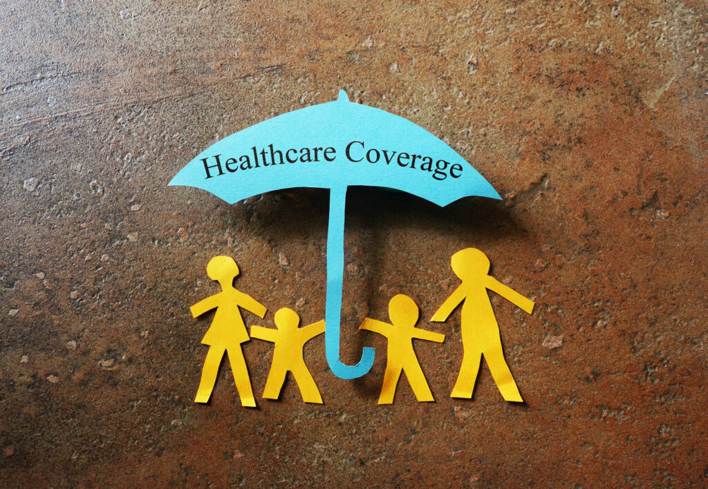 Healthcare Coverage with Paper Family