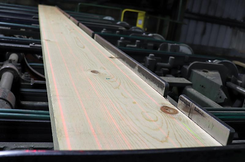 Inbound pine lumber