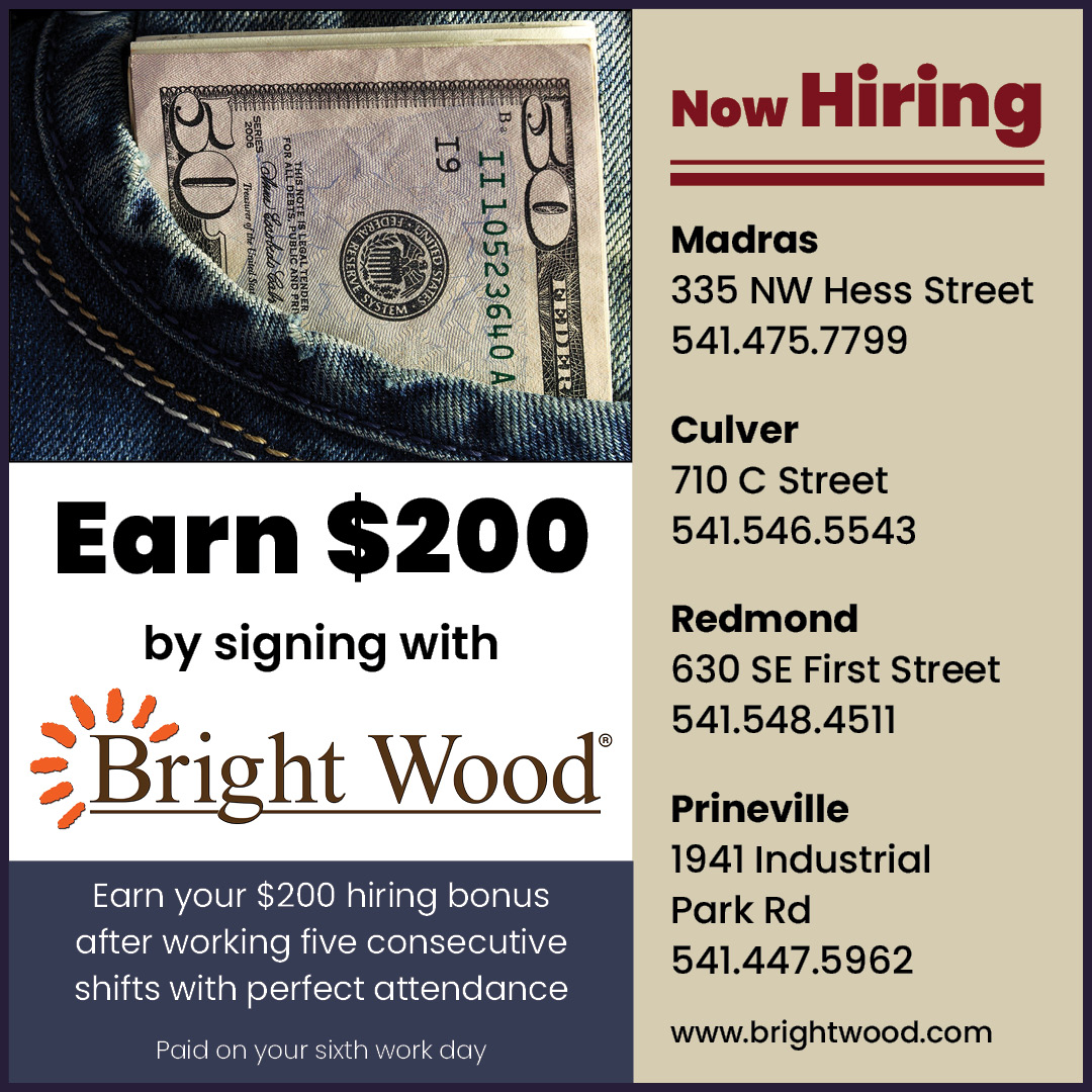 Earn $200 by signing with Bright Wood