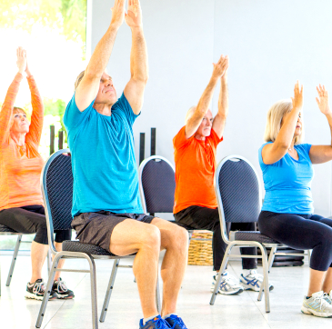 SilverSneakers Yoga Class