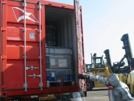 Damaged Freight Spill Response