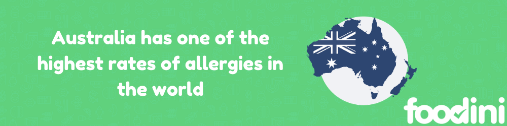 The 10 most common food allergens in Australia