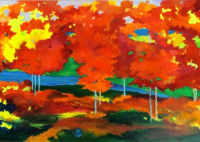 Radiant Aspens and Maples