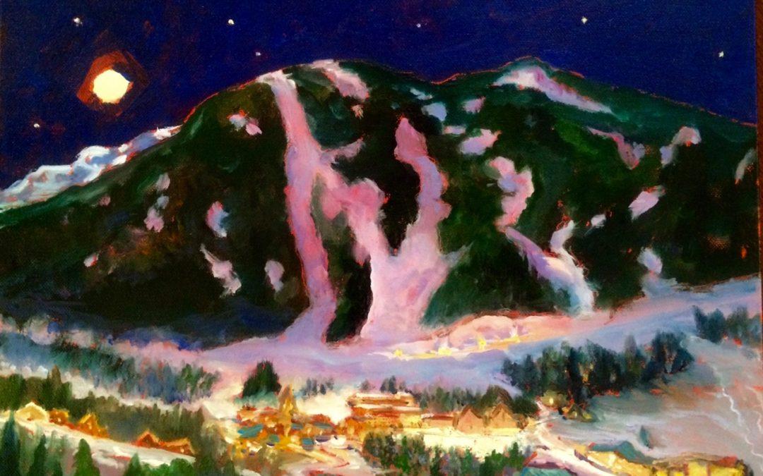Taos Ski Valley at Night