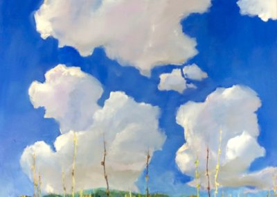 Clouds and Thistle