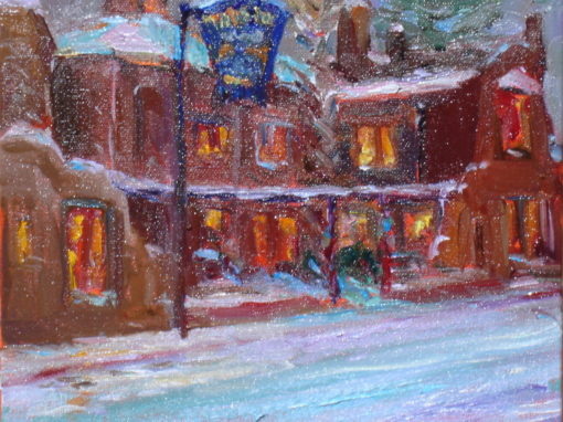 The Taos Inn In Snow