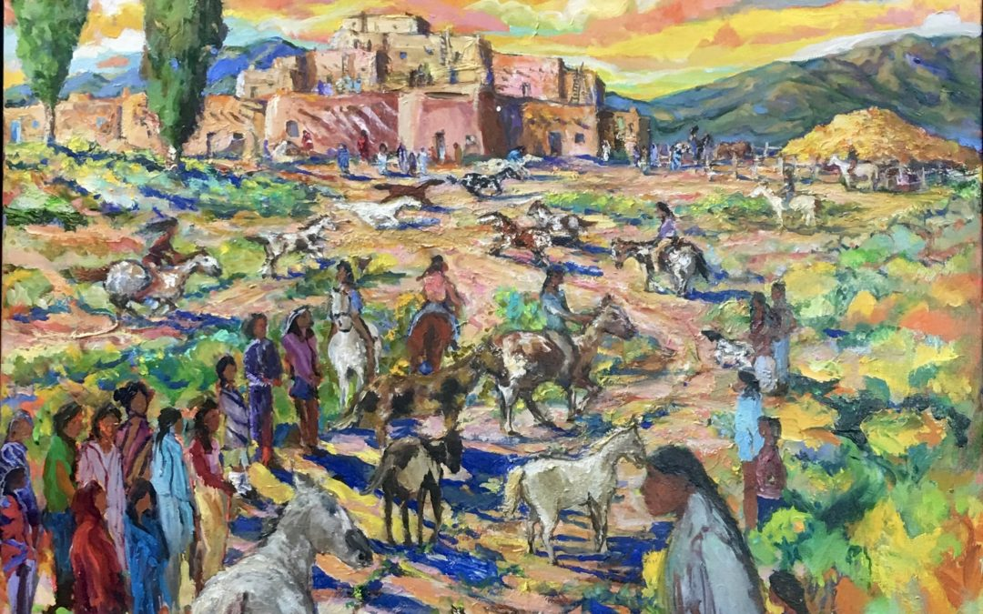 Pueblo Horses