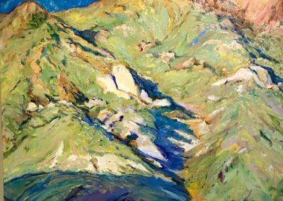 Taos Mountain In Sun and Shadow