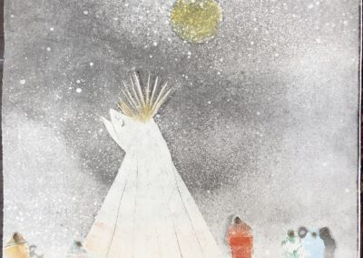The Water Woman in Snow