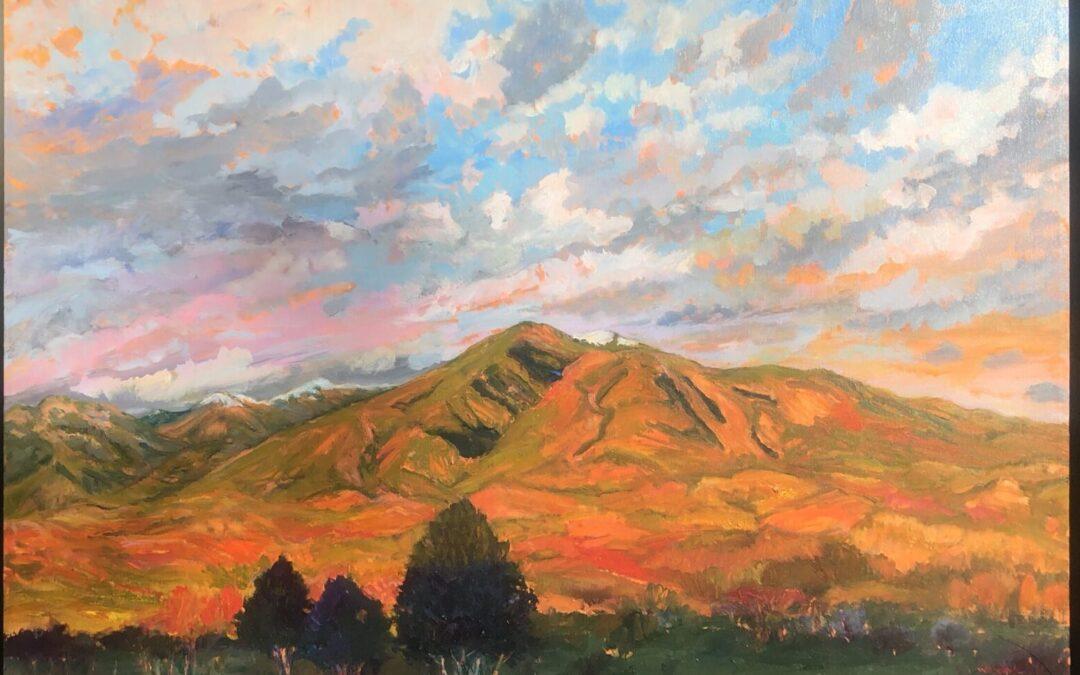 Taos Mountain Last Light