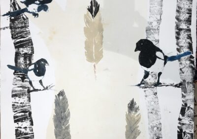 Magpies and Aspens