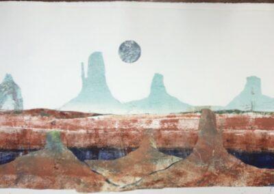 Sentinel Witness Desert Moon