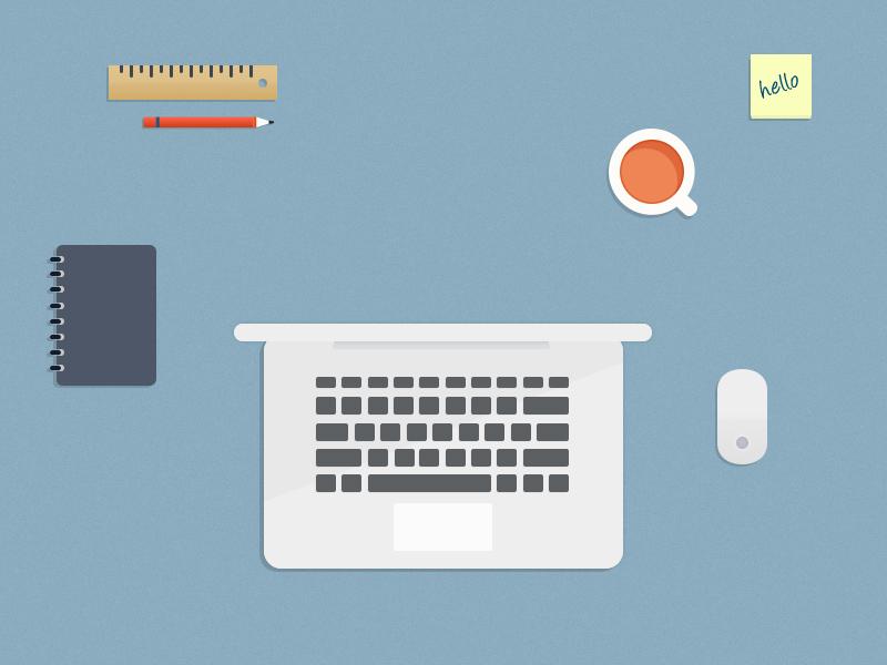 Flat Desktop