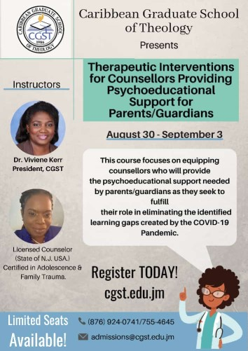 Therapeutic Interventions for Counsellors Providing Psychoeducational Support for Parents/Guardians Copy