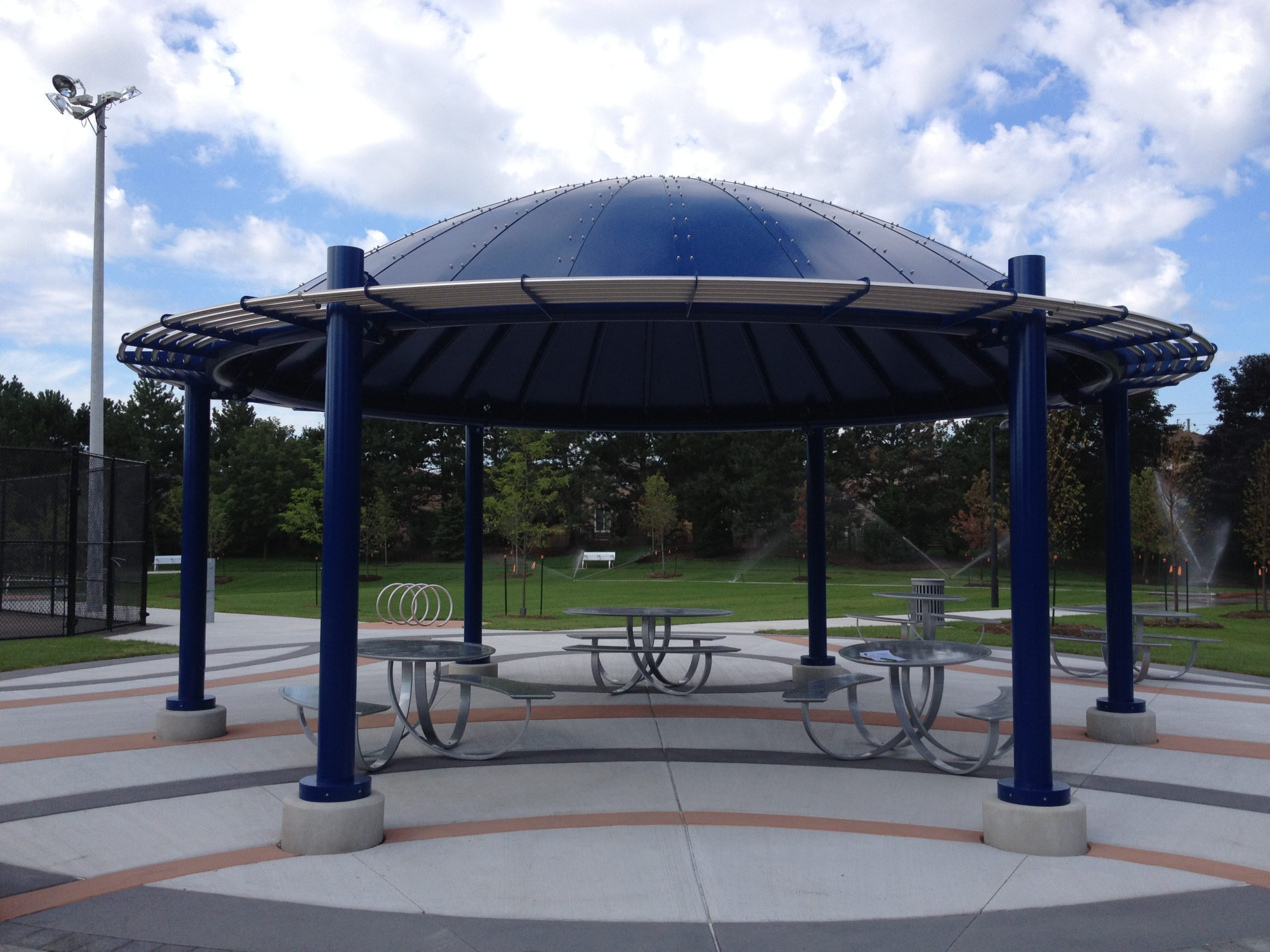 Shade structure.