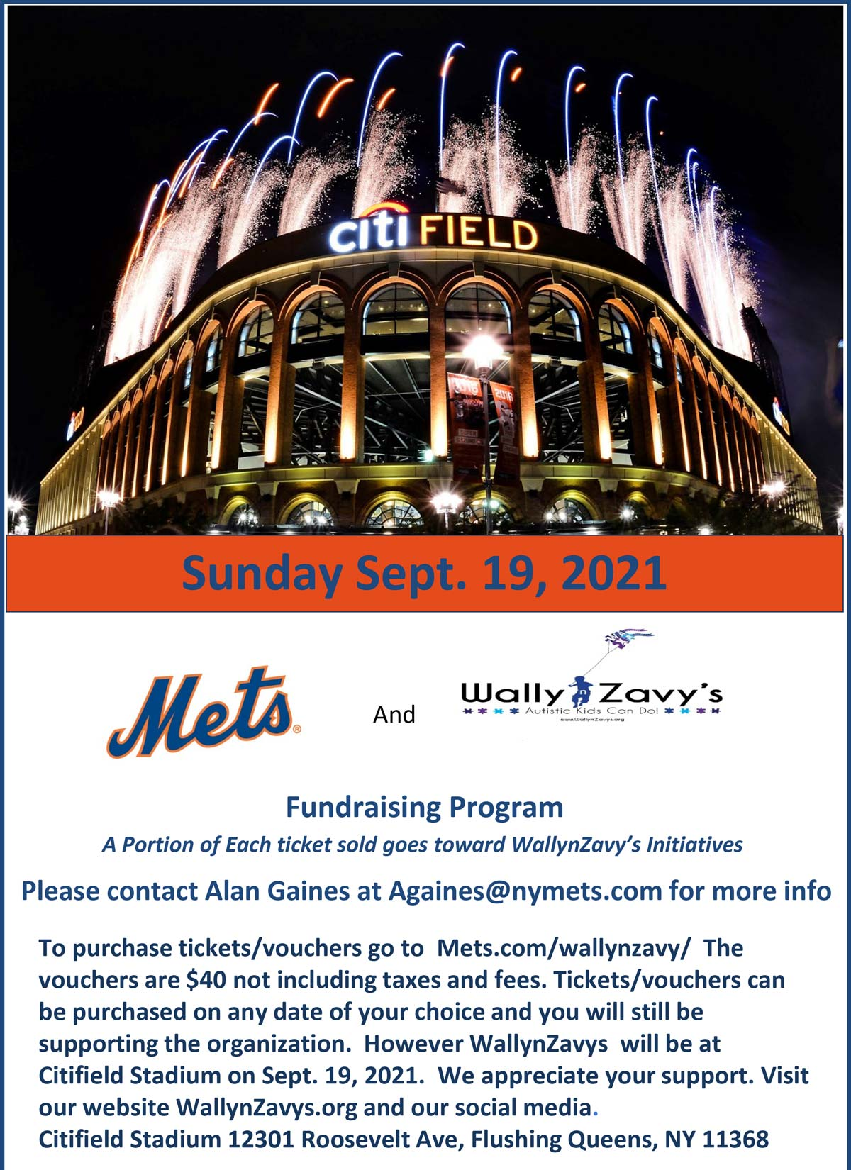 Mets and WallynZavy's Fundraiser