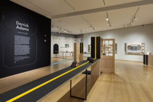 'Sanctuary 2018 install' Derrick Adams: Sanctuary consists of 50 works.