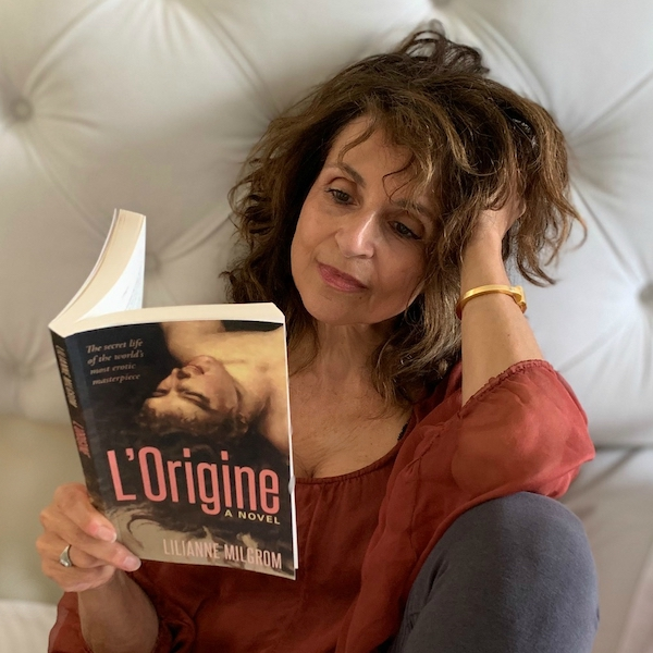 Artist/Author Lilianne Milgrom - L'Origine. A Novel