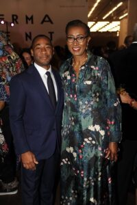 Franklin Sirmans with event Co-Chair Doreen Chambers ~ Art+Soul 2020