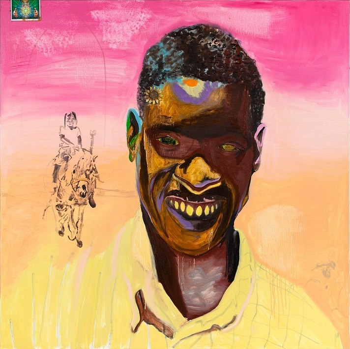 A favorite painting ~ Kerry James Marshall's 'Watts'