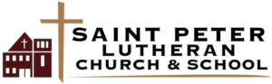 Logo for Saint Peter Lutheran Church and School