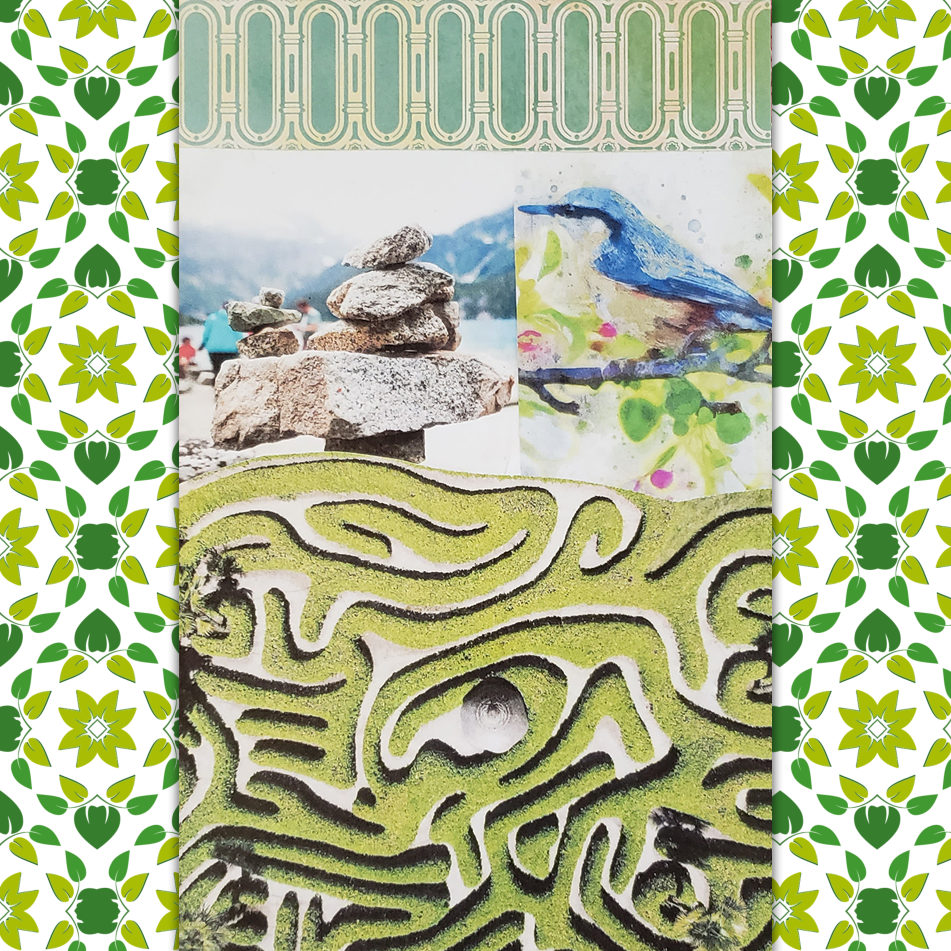 soulcollage committee card grounded navigator