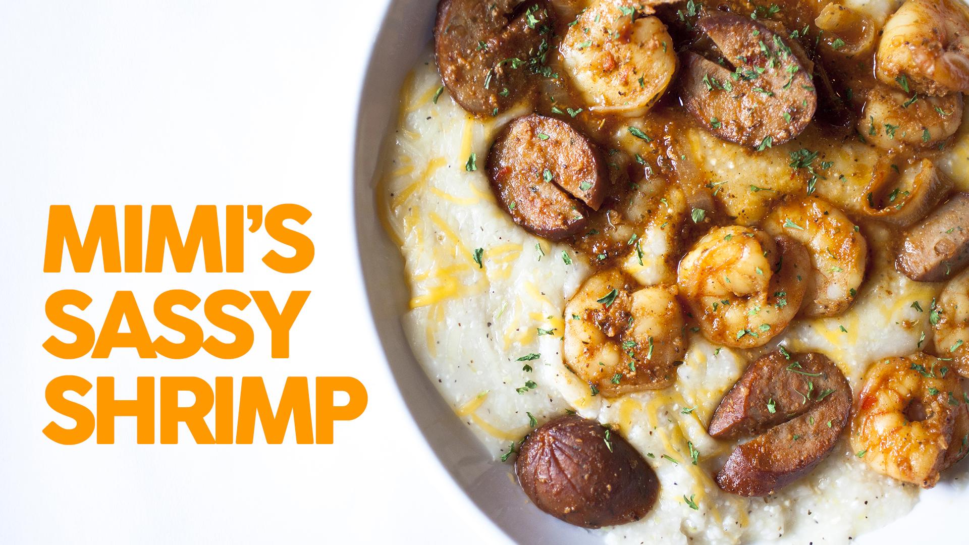 Mimi's Sassy Shrimp