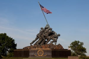 The_Marine_Corps_War_Memorial_in_Arlington,_Va.,_can_be_seen_prior_to_the_Sunset_Parade_June_4,_2013_130604-M-MM982-036