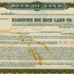 Yukon Gold Rush Klondike Big Inch Land Letters