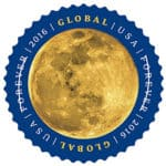 USPS Global Stamp The Moon