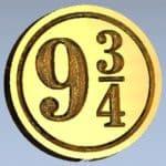 Platform 9 34 Wizarding Wizards Wax Seal Stamps
