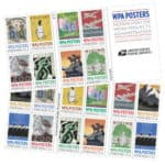 WPA Posters Forever Stamps