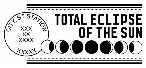2017 Total Eclipse of the Sun Pictorial Postmark
