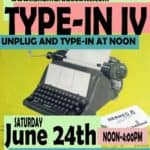 Read more about the article Celebrating Vintage Typewriter TypeIn & More REH