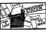 Read more about the article Typewriter Robert E Howard Pictorial Postmark