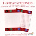 Read more about the article Ugly Christmas Sweaters Stationery Printables