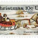 Read more about the article Currier and Ives 1974 Christmas stamp