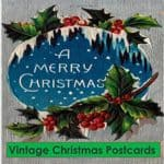 Read more about the article Vintage Christmas Postcards book