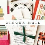 Read more about the article Ginger Mail Stationery Subscription Service